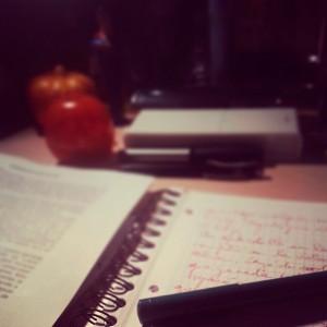 Escribiendo Teatime
